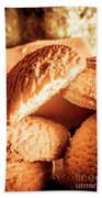 Butter Shortbread Biscuits Hand Towel
