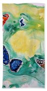 Butterflies Bath Towel