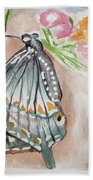 Butterfly 4 Hand Towel