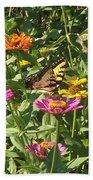 Butterfly Breakfast Bath Towel