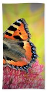 Butterfly In Bloom Bath Towel