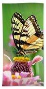 Butterfly In Summer Bath Towel