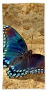 Butterfly Landing Bath Towel