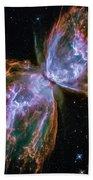Butterfly Nebula Bath Towel