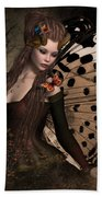 Butterfly Princess Of The Forest 2 Bath Towel