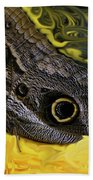 Butterfly Reflections Bath Towel