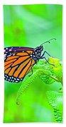Butterfly Series #13 Bath Towel