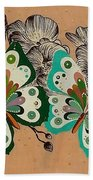 Butterfly Bath Towel