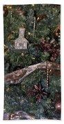 Butterfly Tree Detail 2 Fashions For Evergreens Hotel Roanoke 2009 Bath Towel