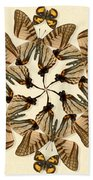Butterfly Wheel Dance Bath Towel