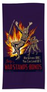 Buy War Stamps And Bonds Hand Towel
