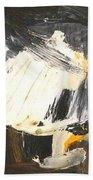 By Edgar A.batzell Untitled Wave Bath Towel