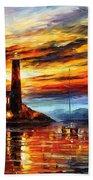 By The Lighthouse Bath Towel