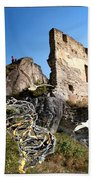 By The Ruins 2 Hand Towel
