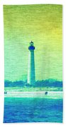 By The Sea - Cape May Lighthouse Bath Towel