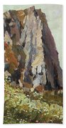 By The Stone Warrior Hand Towel