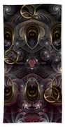Cabalistic Symmetry Of Q Bath Towel