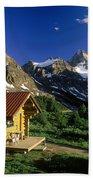 Cabin At Mt Assiniboine Lodge, Mt Bath Towel