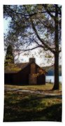 Cabin By The Lake Hand Towel