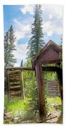 Cabin In The Woods Bath Towel