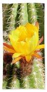 Cactus Bloom 033114a Bath Towel
