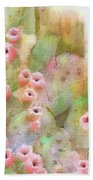 Cactus Rose Bath Towel