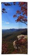 Caesars Head State Park In Upstate South Carolina Bath Towel