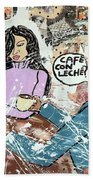 Cafe Con Leche Hand Towel