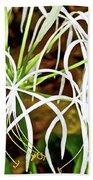 Cahaba Lily In Huntington Botanical Gardens In San Marino-california Bath Towel
