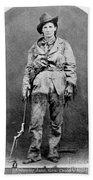 Calamity Jane (1852-1903) Bath Towel
