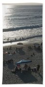 California Carlsbad Beach Almost Sunset Bath Towel