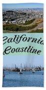 California Collage Bath Towel