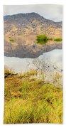 California Kaweah Lake Scene Bath Towel