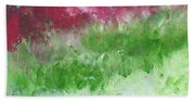 California Landscape- Expressionist Art By Linda Woods Hand Towel