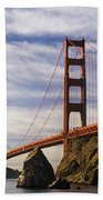 California, San Francisco Bath Towel