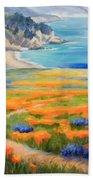 California Spring Big Sur Bath Towel