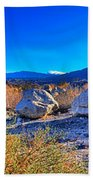 California Wilderness Panorama Bath Towel