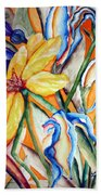 California Wildflowers Series I Bath Towel
