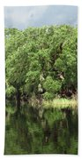 Calm River Reflections Hand Towel