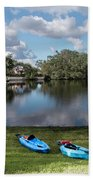 Caloosahatchee Kayaking Hand Towel