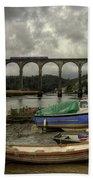 Calstock Viaduct Bath Towel