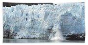 Calving Glacier Bath Towel
