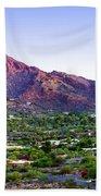 Camelback Mountain, Phoenix, Arizona Bath Towel