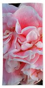 Camellia Flower Bath Towel