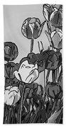 Camille's Tulips - Version 4 Bath Towel