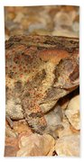 Camouflage Toad Bath Towel