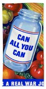 Can All You Can -- Ww2 Hand Towel