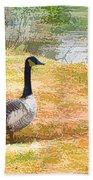 Canadian Geese 6 Bath Towel