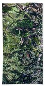 Canal Reflections Abstract Bath Towel