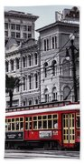 Canal Street Trolley Bath Towel